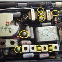 古い松下製トランジスタラジオ AT-175 Junior の修理(1/x)