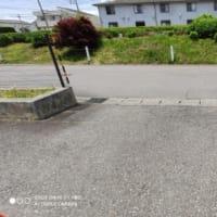 【メゾングッチ】駐車場草取り作業完了