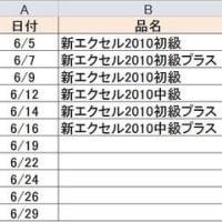 Excel便利技(ドロップダウンリスト)