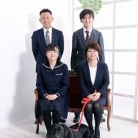 1/9 成人式家族撮影・ペットと一緒に♫  札幌写真館フォトスタジオハレノヒ