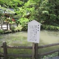 小國神社(3)森山焼の橋~事待池