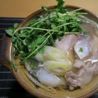 ブリと豚バラと野菜のみちのく一人鍋、炊屋食堂の簡単安く旨く・・・昭和の味、
