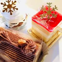 今日のクリスマスケーキは