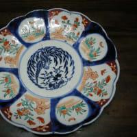 古伊万里風の色絵皿