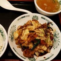 日高屋 店舗限定の「豚肉と野菜の味噌炒め定食」が美味い!
