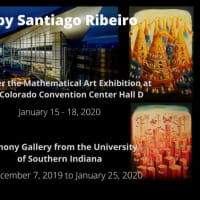 Santiago Ribeiro's Art in Denver, Colorado and at the Harmony Gallery University of Southern Indiana
