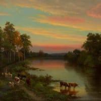 「アメリカの風景画家」ジョン・フレデリック・ケンセット(John Frederick Kensett)の絵画