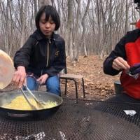春探しキャンプ2日目