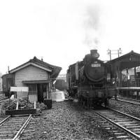 蒸気機関車  肥薩線人吉駅