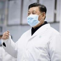 中国  新型コロナウイルス肺炎対策で批判も噴出する習近平主席