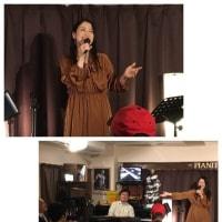 11月28日(金)は、林実里(vo)さんのライブでした!