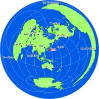 正 距 方位 図法 正距方位図法 - Wikipedia