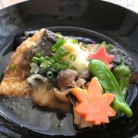 鯖のおろし煮とオットのお弁当