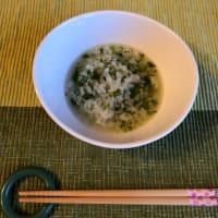 日本の伝統行事の1月7日は、春の七草粥を食べましょう。