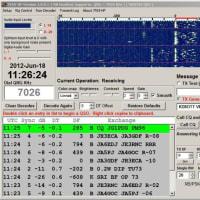 6月18日に行った7MHzのJT65AスケジュールQSOがJT65‐HF ‐Googleグループで話題になっています