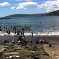 中央区の子ども達の体験の場のひとつ:『自然と触れ合おう わんぱくKids』 毎年恒例の海の行事への医療班協力