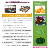 【講習会情報】10月からの毎月1回開催