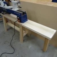 木工旋盤 台の製作