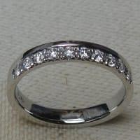 ダイヤモンドリングのオーダー製作