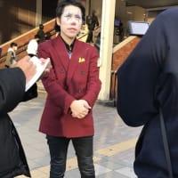 「河合ゆうすけ」さん、ABEMA NEWSチャンネル出演のお知らせと海浜幕張駅から移動!