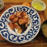 鷄ささみと野菜の黒酢炒め