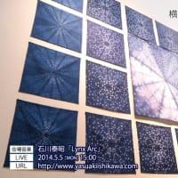 横山野美 展「fractale」の音楽を担当しました。