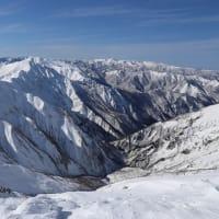 厳冬期谷川岳