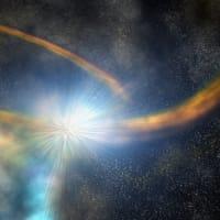 """ブラックホールに恒星が破壊される潮汐破壊現象が原因? 非常にまれな増光現象を""""TESS""""が初観測!"""