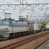 EF66-120(8078レ)【尻手駅:南武支線】2021.4.16
