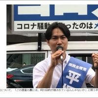 平塚正幸氏が巣鴨で街宣「メディアこそウイルス」