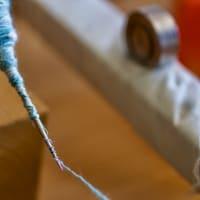 店内を見渡せば手織り作品展