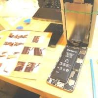 携帯を格安SIM & 中古iPhoneに変更。 バッテリー取替