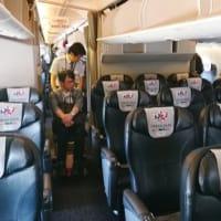 障害者招き搭乗体験=木製車椅子など用意-日航