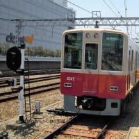 阪神 甲子園(2010.6.5)  赤胴車 8245F 直通特急 梅田行き