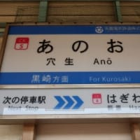 筑豊電気鉄道 穴生駅
