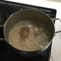 今日の一品 豚足とインゲン豆スープ