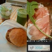[月曜日の営業とハンバーガー!!]