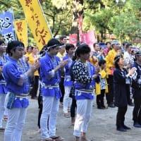 ▼八幡すずめ2019(7)馬場交流演舞場