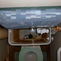 トイレの水漏れ修理・・・千葉市営住宅