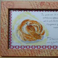 今月のパンの絵