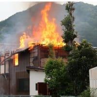 民家から炎、遺体発見 負傷者搬送 綾部