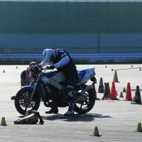 DUNLOP 月刊オートバイCUP!ジムカーナ大会第4戦!SBクラス5位!