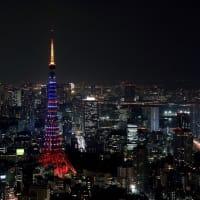 東京スカイツリーが星条旗!?