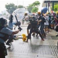 香港 若者たちの抵抗 「今回が最後のデモ活動だ」 台湾では、中国批判を避ける国民党候補