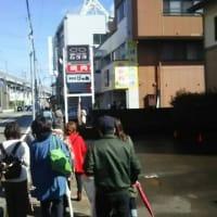 本日「森本商店街めぐり」・・・応募された市民13名が、2コースに分かれ、お店を巡って頂きました。