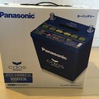ヴェルファイア  バッテリー交換 パナソニック カオス N-100D23L/C7