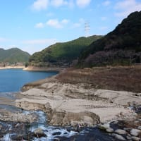 【現地最新情報】南畑ダム貯水率35%、県内最低 五ケ山ダム満水位超(1月18日更新)