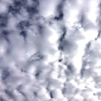 食パンみたいな雲ですね