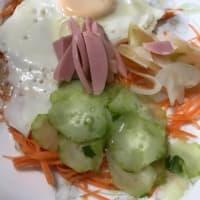 野菜中心の朝食  /血糖値改善/血圧改善/メタボ改善を目指し