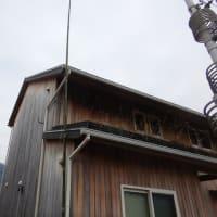 アンテナ(T2FD)の竹竿を取り換えました